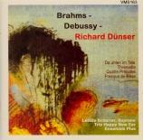 BRAHMS - Scherrer - Schöner Augen schöne Strahlen (traditionnel), chant Arrangements pour voix et ensemble de Richard Dünser