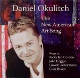 Daniel Okulitch The New American Art Song