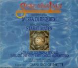 VERDI - Gelmetti - Messa da requiem, pour quatre voix solo, choeur, et or