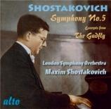 CHOSTAKOVITCH - Chostakovitch - Symphonie n°5 op.47