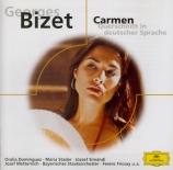 BIZET - Fricsay - Carmen, opéra comique WD.31 : extraits (en allemand) en allemand