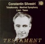 TCHAIKOVSKY - Silvestri - Symphonie 'Manfred' pour orgue et orchestre en