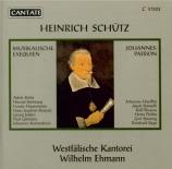 SCHÜTZ - Ehmann - Musikalische Exequien (Obsèques musicales) op.7 SWV.27