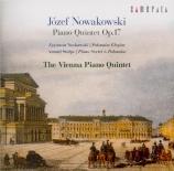 NOWAKOWSKI - Vienna Piano Qu - Quintette avec piano en mi bémol majeur o Import Japon