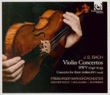 BACH - Freiburger Baro - Concerto pour deux violons en ré mineur BWV.104