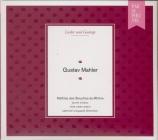 Lieder und Gesänge Mahler : arrangements de Hermann Lauer