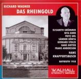 WAGNER - Knappertsbusch - Das Rheingold (L'or du Rhin) WWV.86a live Bayreuth 1958