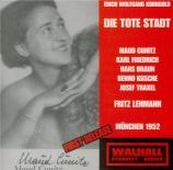 KORNGOLD - Lehmann - Die tote Stadt (Live München) Live München