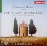 The Italian Intermezzo Music without Words