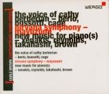 Earle Brown Contemporary Sound Series Vol.3