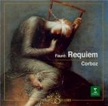 FAURE - Corboz - Requiem pour voix, orgue et orchestre en ré mineur op.4 Import Japon