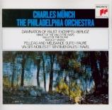 RAVEL - Munch - Valses nobles et sentimentales : version pour orchestre Import Japon