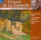 LA TOMBELLE - Scheirich - Sonate pour violoncelle et piano