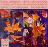 PFITZNER - Possemeyer - Lieder