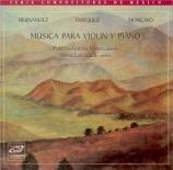Musica para violin y piano