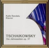 TCHAIKOVSKY - Randalu - Les Saisons, douze pièces pour piano op.37a