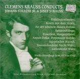 Clemens Krauss conducts Johann Strauss Jr & Josef Strauss