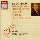 HAYDN - Smithson String - Quatuor à cordes n°81 en sol majeur op.77 n°1