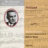 WIKLUND - Sturfält - Concerto pour piano n°1 en mi mineur op.10