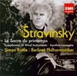 STRAVINSKY - Rattle - Le sacre du printemps, ballet pour orchestre
