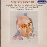KOCSAR - Szabo - Capricon concerto, pour flûte et orchestre de chambre