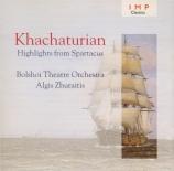 KHATCHATURIAN - Juraitis - Spartacus : extraits