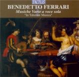 FERRARI - 'In Tabernae Mu - Musiche varie a voce sola (extraits Livres 1