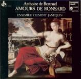 BERTRAND - Ensemble Clemen - Amours de Ronsard