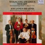 MOZART - Berliner Solist - Quintette pour clarinette et cordes en la maj