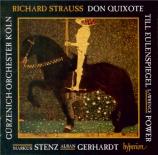 STRAUSS - Gerhardt - Don Quixote, pour violoncelle, alto et grand orches