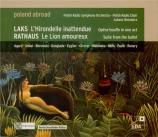 LAKS - Borowicz - L'Hirondelle inattendue