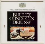 DEBUSSY - Boulez - La mer, trois esquisses symphoniques pour orchestre L Import Japon