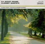 MOZART - Prinz - Quintette pour clarinette et cordes en la majeur K.581 Import Japon