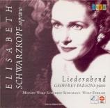 MOZART - Schwarzkopf - Abendempfindung an Laura, lied pour voix et piano