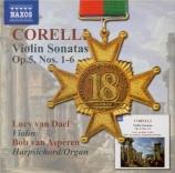 CORELLI - Van Dael - Sonate pour violon op.5 n°1