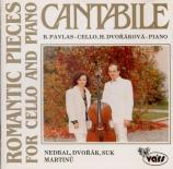 Cantabile Romantic Pieces for Cello and Piano
