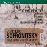Vladimir Sofronitsky plays in the Scriabin Museum Vol.1