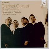 BRAHMS - Jerusalem Quart - Quatuor à cordes n°2 en la mineur op.51 n°2