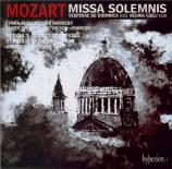MOZART - Carwood - Missa solemnis en do majeur, pour solistes, chœur, or