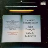 Musique pour orchestre à cordes du XXème siècle