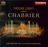 Neeme Järvi conducts Chabrier