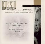 MYASKOVSKI - Rozhdestvensky - Symphonie n°2 op.11