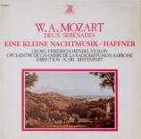 MOZART - Hendel - Sérénade n°13, pour orchestre en sol majeur K.525 'Ein