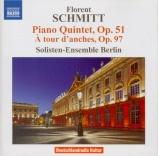 SCHMITT - Solisten-Ensemb - Quintette avec piano op.51