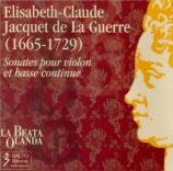 JACQUET DE LA GUERRE - Hoffmann - Sonate pour violon et basse continue n