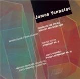 YANNATOS - Yannatos - Concerto pour quatuor à cordes et orchestre