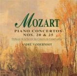 MOZART - Heidsieck - Concerto pour piano et orchestre n°20 en ré mineur