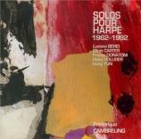 Solos pour harpe 1962-1992