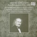 MOUSSORGSKY - Toscanini - Tableaux d'une exposition : orchestration de R