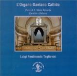 L'Organo Gaetano Callido, Candide